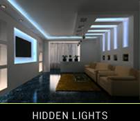 hidden lights